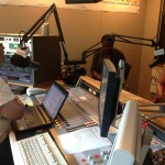 Regain Belle on air at Praise Radio in Philadelphia