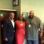 Regina & Ruben with Ken Johnson at WDAS Philadelphia