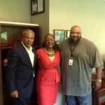 Regina & Ruben with Ken Johnson at WDAS Philadelphia